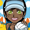 Volleyball Summer girl